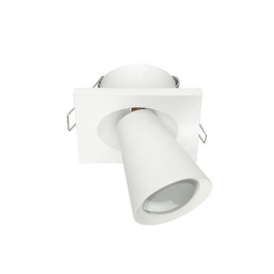 Linea Light - Conus - Conus - Faretto led orientabile da soffitto - Bianco RAL 9010 - LS-LL-7269 - Bianco caldo - 3000 K - Diffusa