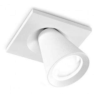 Linea Light - Conus - Conus - Faretto led orientabile da soffitto - Bianco RAL 9010 -  - Bianco caldo - 3000 K - Diffusa