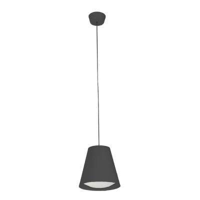 Linea Light - Conus - Conus LED - Lampada led a sospensione conica M - Nero - LS-LL-7532 - Bianco caldo - 3000 K - Diffusa
