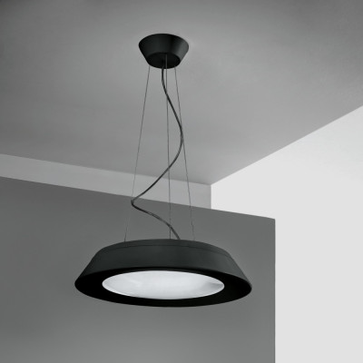 Linea Light - Conus - Conus LED - Lampada led a sospensione  - Nero -  - Bianco caldo - 3000 K - Diffusa