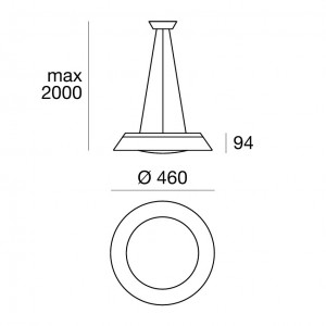 Linea Light - Conus - Conus LED - Lampada led a sospensione
