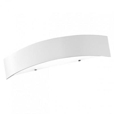 Linea Light - Curvè - Lampada da parete Curvè M - Bianco - LS-LL-1131