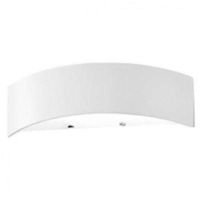 Linea Light - Curvè - Lampada da parete Curvè S - Bianco - LS-LL-1135