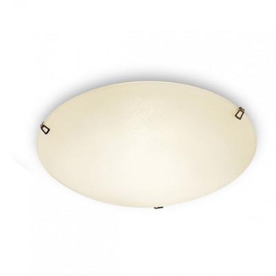 Linea Light - Delta - Plafoniera o applique Delta M - Ambra - LS-LL-3441