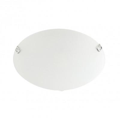 Linea Light - Delta - Plafoniera o applique Delta S - Nichel satinato - LS-LL-3430