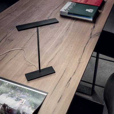 Linea Light - Dublight - Dublight C TL LED - Lampada da tavolo a luce LED - Nero -  - Bianco caldo - 3000 K - Diffusa