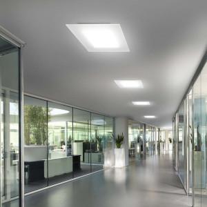 Linea Light - Dublight - Dublight LED - Lampada a soffitto M - Bianco -  - Bianco caldo - 3000 K - Diffusa
