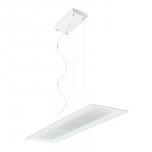 Linea Light - Dublight - Dublight LED - Lampada a sospensione L - Bianco -  - Bianco caldo - 3000 K - Diffusa