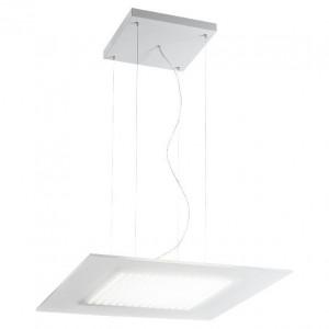 Linea Light - Dublight - Dublight LED - Lampada a sospensione quadrata M - Bianco -  - Bianco caldo - 3000 K - Diffusa
