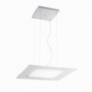 Linea Light - Dublight - Dublight LED - Lampada a sospensione quadrata M