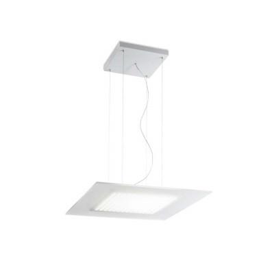 Linea Light - Dublight - Dublight LED - Lampada a sospensione quadrata S