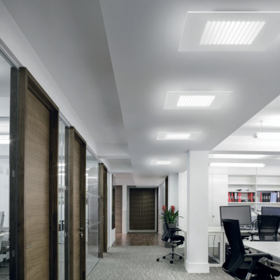 Linea Light - Dublight - Dublight LED - Lampada da soffitto L