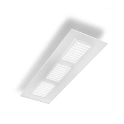 Linea Light - Dublight - Dublight LED - Plafoniera L - Bianco -  - Bianco caldo - 3000 K - Diffusa