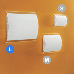 Linea Light - Eco Molla - Applique da parete Ecomolla L