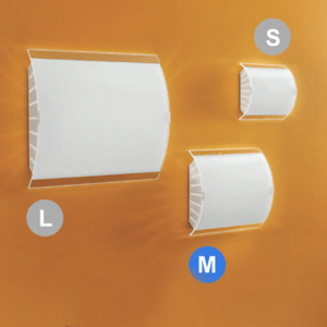 Linea Light - Eco Molla - Applique da parete Ecomolla M
