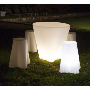Linea Light - Flower Family - Flower Family - Seduta luminosa da esterni