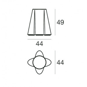 Linea Light - Flower Family - Flower Family - Seduta luminosa da esterni