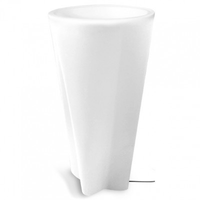 Linea Light - Flower Family - Flower Family - Vaso luminoso da esterni M - Natural - LS-LL-15057