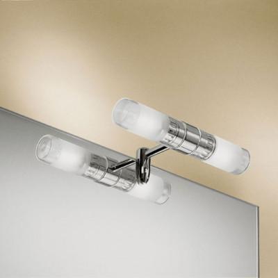 Linea Light - Fotis - Faretto per specchiera Fotis 9x5 cm - Cromo - LS-LL-3261