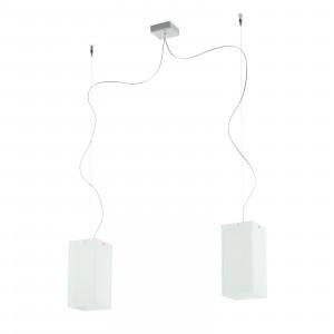 Linea Light - Gluèd - Gluèd - Lampada a sospensione doppia luce - Bianco - LS-LL-4899