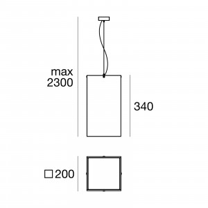 Linea Light - Gluèd - Gluèd - Lampada a sospensione M