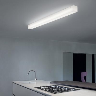 Linea Light - Gluèd - Gluèd SB AP PL LED L - Applique e plafoniera rettangolare misura L