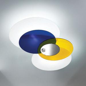 Linea Light - Hula hoop - Hula Hoop - Plafoniera soffitto 4 vetri regolabili M