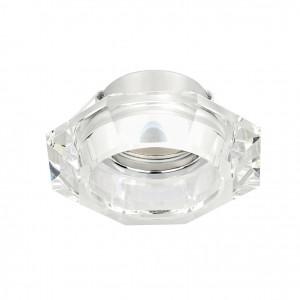 Linea Light - Incasso - Faretto prismatico Incas ad una luce - Trasparente - LS-LL-6364