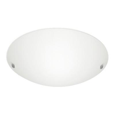 Linea Light - Liner - Lampada da parete o da soffitto Liner S - Nichel satinato - LS-LL-71886