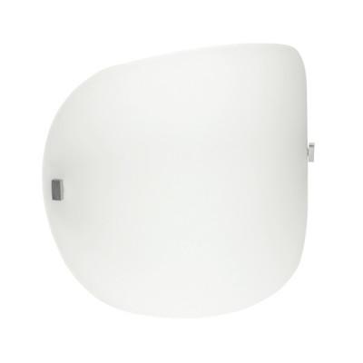 Linea Light - Liner - Lampada da parete o da soffitto Liner XL - Nichel satinato - LS-LL-71880