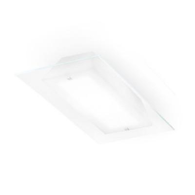 Linea Light - Luminosa - Luminosa S - Lampada da parete / soffitto - Trasparente - LS-LL-71690