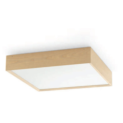 Linea Light - Madera - Madera XL PL - Plafoniera rovere - Rovere naturale - LS-LL-90271