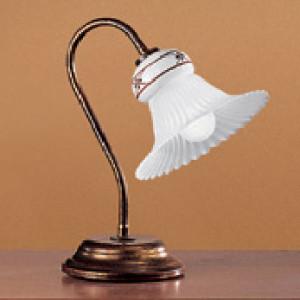 Linea Light - Mami - Abat-jour con paralume in vetro Mami