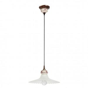 Linea Light - Mami - Lampadario cupola a campana Mami M - Ruggine - LS-LL-2645