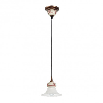 Linea Light - Mami - Lampadario cupola a campana Mami S - Ruggine - LS-LL-2644