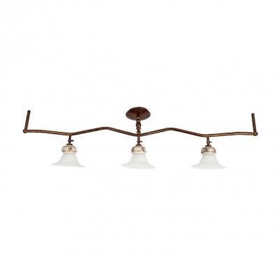 Linea Light - Mami - Sistema di illuminazione a soffitto Mami - Ruggine - LS-LL-2653