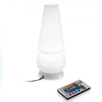 Linea Light - Marge - Baby Marge - Lampada da tavolo - Natural -  - RGB - Diffusa