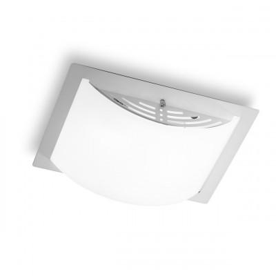 Linea Light - Met Wally - Met Wally L - Plafoniera e applique - Cromo - LS-LL-539K881