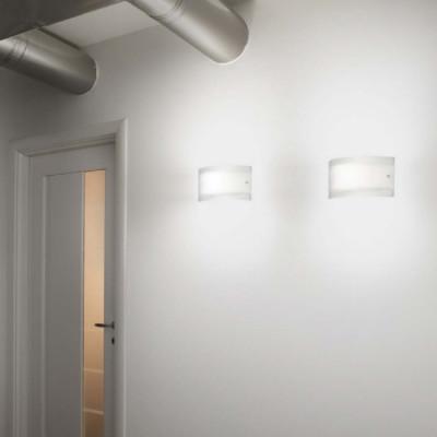 Linea light mille applique da parete light shopping for Applique da parete legno