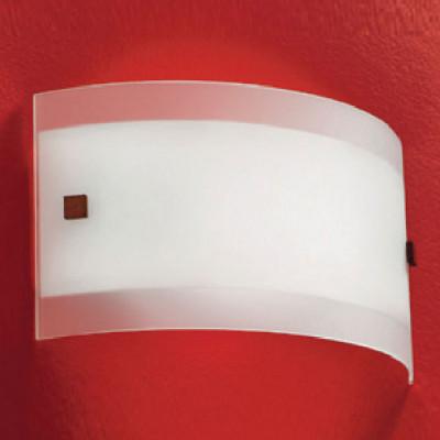 Linea Light - Mille - Applique da parete Mille - Nichel spazzolato/Ciliegio - LS-LL-1045