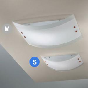 Linea Light - Mille - Lampada a soffitto/parete Mille S