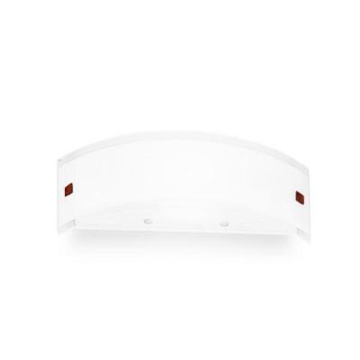 Linea Light - Mille - Lampada da parete Mille XS - Nichel, Ciliegio - Nichel spazzolato/Ciliegio - LS-LL-6846