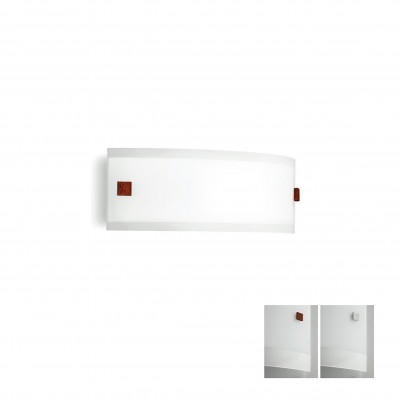 Linea Light - Mille - Mille LED AP M - Applique in vetro