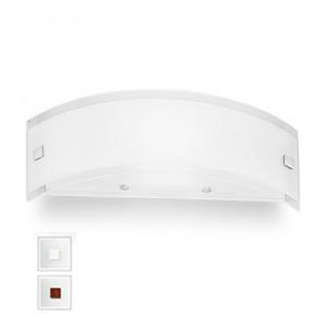 Linea Light - Mille - Mille LED AP XS - Applique versatile - Nichel spazzolato/Ciliegio -  - Bianco caldo - 3000 K - Diffusa