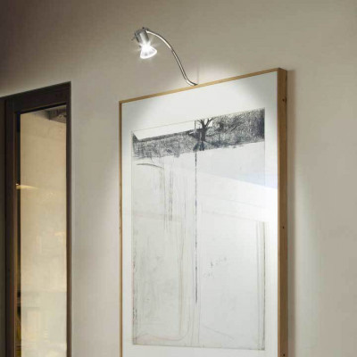 Linea Light - Mirror - Lampada a faretto da parete Mirror