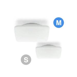 Linea Light - My White - My White M PL square - Plafoniera qudrata