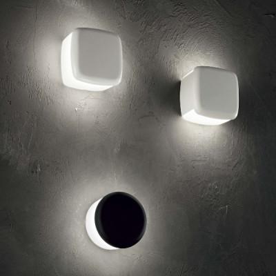 Linea Light - MyWhite Bond - Miniwhite Cover Q AP PL LED - Lampada da parete e soffitto da esterni