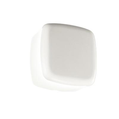 Linea Light - MyWhite Bond - Miniwhite Cover Q AP PL LED - Lampada da parete e soffitto da esterni - Bianco - LS-LL-8031 - Bianco caldo - 3000 K - Diffusa