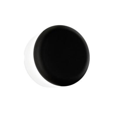 Linea Light - MyWhite Bond - MyWhite Cover R AP PL - Applique da esterno rotonda - Nero - LS-LL-8026 - Bianco caldo - 3000 K - Diffusa