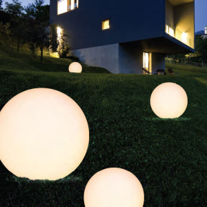 Linea Light - Oh! - Oh! - Lampada a sfera per esterni XXL